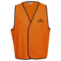 HI-VIZ 'FIRE WARDEN' SAFETY DAY or DAY/NIGHT VEST