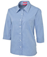 JB's Ladies 3/4 Fine Chambray Shirt