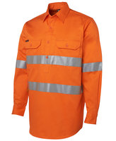 JB's Hi Vis (D+N) Close Front L/S Shirt