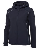 JB's Ladies Hooded Soft Shell