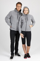Soft cotton/bonded polar fleece Hoodie