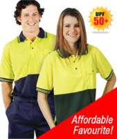 HI-VIS COOLDRY POLO SHIRT