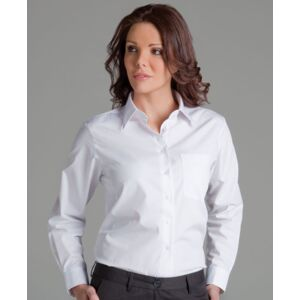 JB's Ladies S/S Poplin Shirt Black 8 Thumbnail