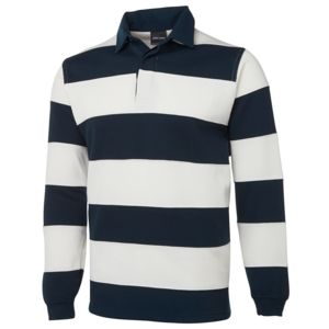 JB's Rugby Striped Navy/Red S Thumbnail