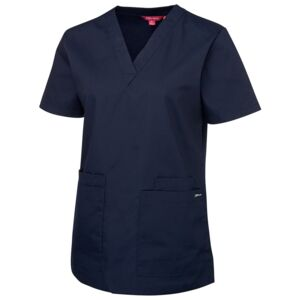 JB's Ladies Scrubs Top Green 6 Thumbnail