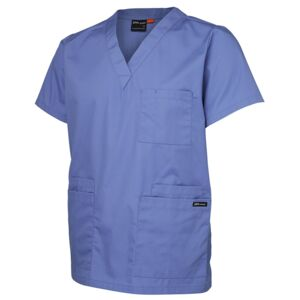 JB's Unisex Scrubs Top Green XS Thumbnail