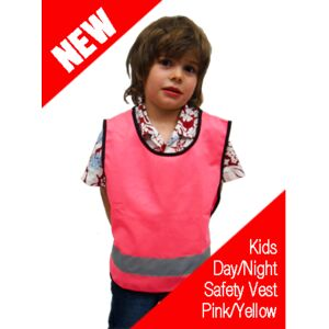 Kids Hi-Vis Day/Night Safety Vest Thumbnail