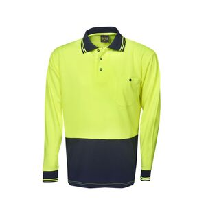 Hi-Viz Lightweight Cooldry Polo Long Sleeve Thumbnail