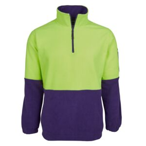 JB's Hi Vis 1/2 Zip Polar Fleece Thumbnail