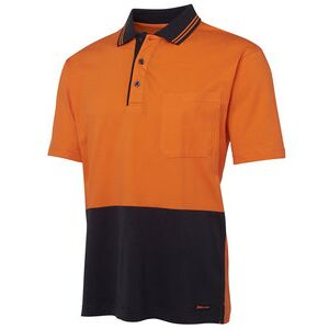 JB's Hi Vis S/S Cotton Polo Thumbnail