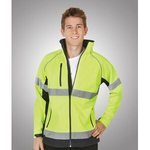 Hi-Viz Soft Shell Jacket Day/Night Use FE Thumbnail