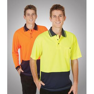 Hi-Viz Lightweight Cooldry Polo Short Sleeve FE Thumbnail