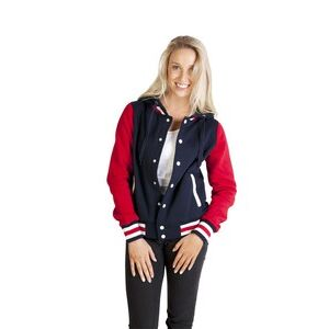 Ladies Varsity Jacket & Hood Thumbnail