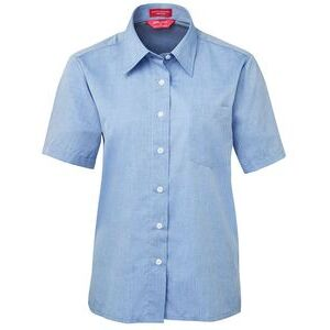 JB's Ladies S/S Fine Chambray Shirt Thumbnail