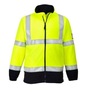FLAME RESISTANT ANTI STATIC HI-VIS FLEECE Thumbnail
