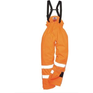 BIZFLAME RAIN UNLINED - HI-VIS ANTISTATIC FR PANTS Thumbnail
