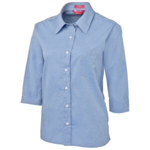 JB's Ladies 3/4 Fine Chambray Shirt Thumbnail
