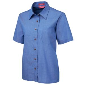 JB's Ladies S/S Indigo Shirt  Thumbnail