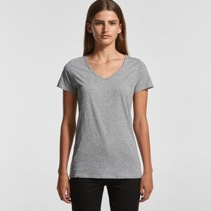 Women's Bevel V-Neck Tee Thumbnail