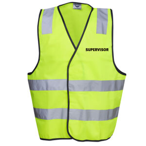 HI-VIZ 'SUPERVISOR' DAY/NIGHT SAFETY VEST - HI-VIZ SAFETY DAY/NIGHT VEST Thumbnail