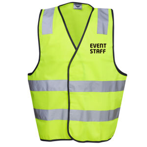 EVENT STAFF DAY/NIGHT VEST - HI-VIZ SAFETY DAY/NIGHT VEST Thumbnail