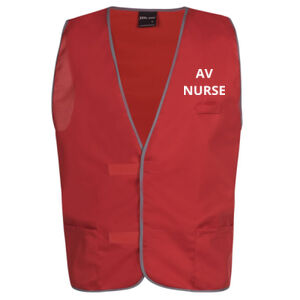 AV Nurse Safety Vest Thumbnail
