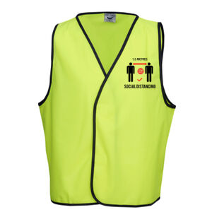 1.5 Metres Social Distancing Day Vest 2 Thumbnail